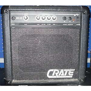 Pre-owned Crate BX-15 Bass Combo Amp