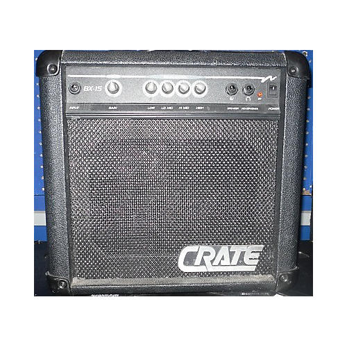 Crate BX-15 Bass Combo Amp