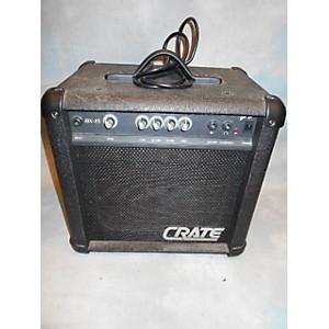 Pre-owned Crate BX15 1X8 15 Watt Bass Combo Amp
