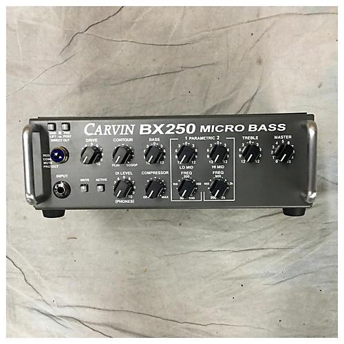 Carvin BX250 MICRO BASS HEAD Bass Amp Head