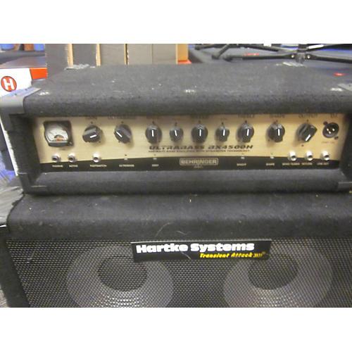Behringer BX4500H 450W Bass Amp Head-thumbnail