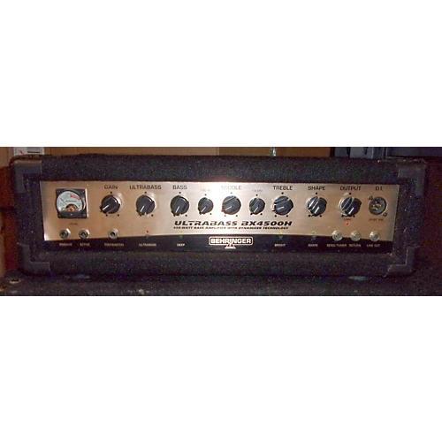 Behringer BX4500H Bass Amp Head
