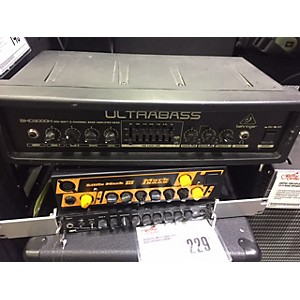Pre-owned Behringer BXD3000H Bass Amp Head