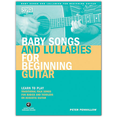 Hal Leonard Baby Songs And Lullabies for Beginning Guitar (Book/Online Audio)-thumbnail