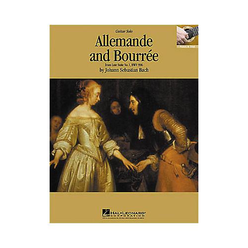 Hal Leonard Bach: Allemande and Bourre Guitar Sheet Music Book