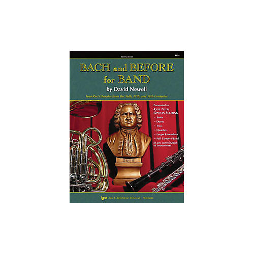KJOS Bach And Before for Band Baritone Tc-thumbnail