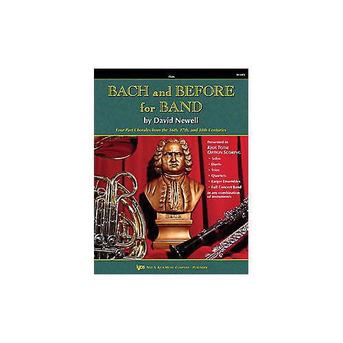 KJOS Bach And Before for Band Flute-thumbnail