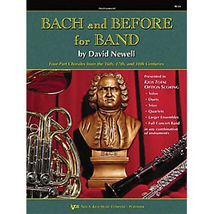 KJOS Bach and Before for Band Trumpet by KJOS