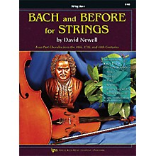 KJOS Bach And Before for Strings Str Bass