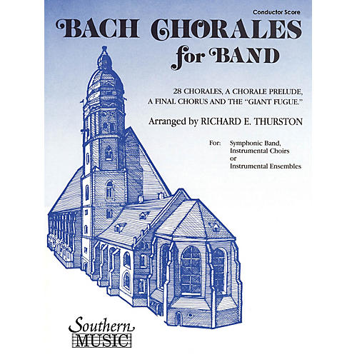 Southern Bach Chorales for Band (Baritone T.C.) Concert Band Level 3 Arranged by Richard E. Thurston