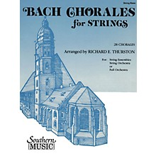 Southern Bach Chorales for Strings (28 Chorales) by Johann Sebastian Bach Arranged by Richard E. Thurston