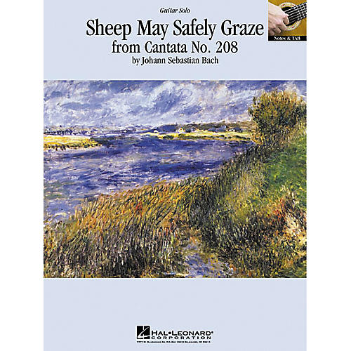 Hal Leonard Bach: Sheep May Safely Graze Guitar (Sheet Music)
