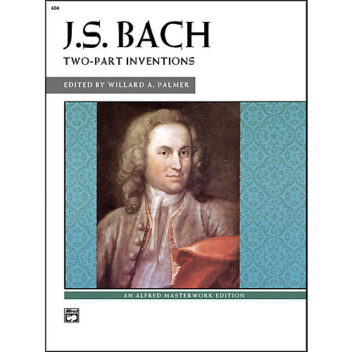 Alfred Bach Two-Part Inventions Intermediate/Late Intermediate  Piano