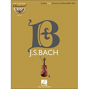 Hal Leonard Bach: Violin Concerto in A Minor, Bwv 1041 Classical Play-Along... by Hal Leonard