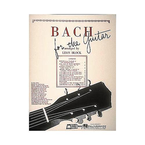 Edward B. Marks Music Company Bach for Guitar Book