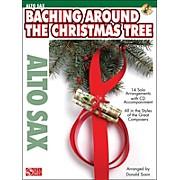Cherry Lane Baching Around The Christmas Tree (Alto Sax) Book/CD