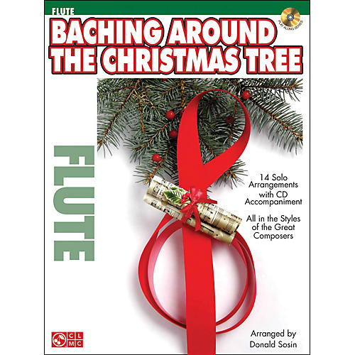 Cherry Lane Baching Around The Christmas Tree (Flute) Book/CD-thumbnail