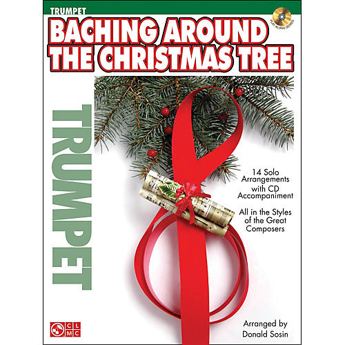 Cherry Lane Baching Around The Christmas Tree (Trumpet) Book/CD-thumbnail