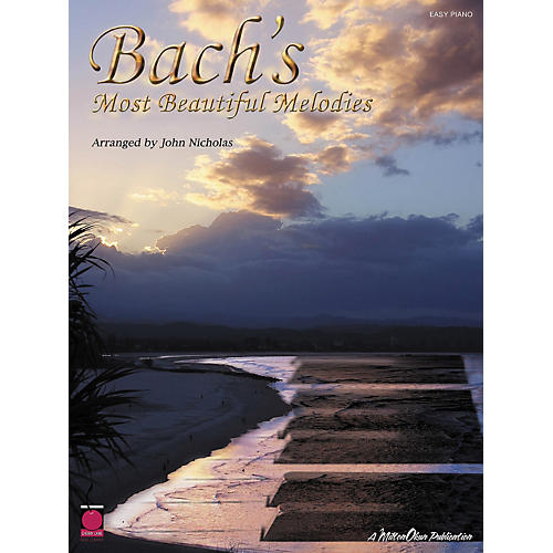Cherry Lane Bach's Most Beautiful Melodies For Easy Piano