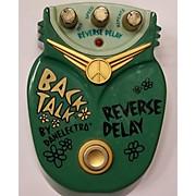 Danelectro Back Talk Reverse Delay Effect Pedal