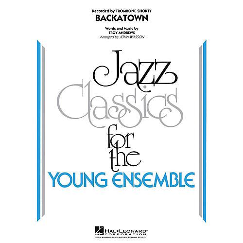 Hal Leonard Backatown Jazz Band Level 3-thumbnail