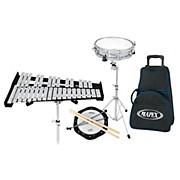 Mapex Backpack Snare Drum and Bell Percussion Kit with Rolling Bag