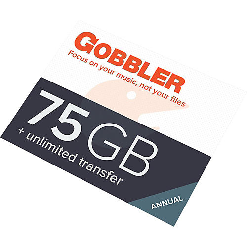 Gobbler Backstage Pass 75GB Cloud Storage/Unlimited Transfers Software Download