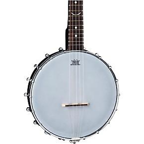 dean backwoods 5 string satin mini banjo black guitar center. Black Bedroom Furniture Sets. Home Design Ideas