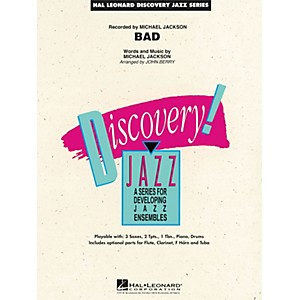 Hal Leonard Bad Jazz Band Level 1.5 by Michael Jackson Arranged by John Ber... by Hal Leonard
