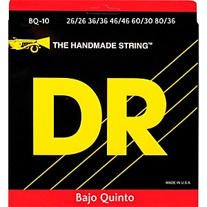 DR Strings Bajo Quinto Bass Strings - 10 String by DR Strings