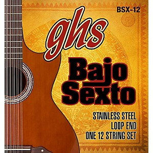GHS Bajo Sexto 12 String Guitar String Set by GHS