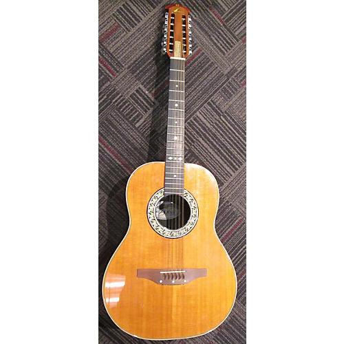 Ovation Baladeer 12 String Acoustic Guitar Natural