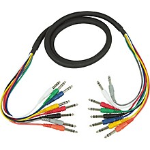 "Hosa Balanced 1/4""-1/4"" 8-Channel Cable"