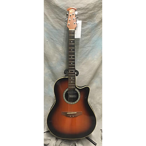 Ovation Balladeer 4861 Acoustic Electric Guitar