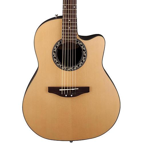 Applause Balladeer Mid Depth Bowl Acoustic Guitar Natural