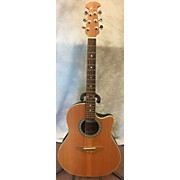 Ovation Balladeer NO. 4861 Acoustic Electric Guitar