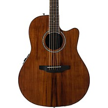 Balladeer Plus Series AB24IIP Acoustic-Electric Guitar Koa