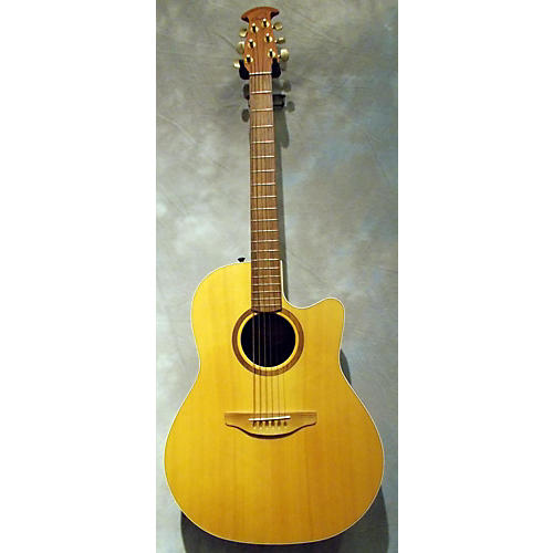 Ovation Balladeer Special Natural Acoustic Electric Guitar