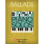 Music Sales Ballads  Easy Piano Solos