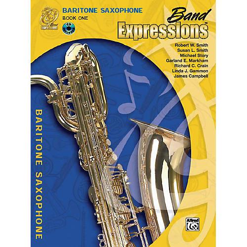 Alfred Band Expressions Book One Student Edition Baritone Saxophone Book & CD-thumbnail