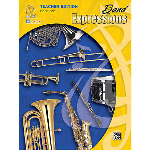 Alfred Band Expressions Book One Teacher Edition Curriculum Package