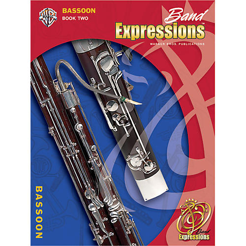 Alfred Band Expressions Book Two Student Edition Bassoon Book & CD-thumbnail
