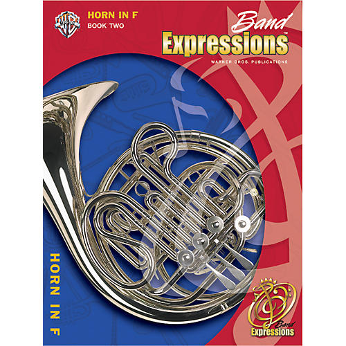 Alfred Band Expressions Book Two Student Edition Horn in F Book & CD-thumbnail