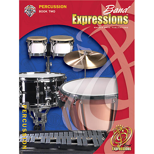 Alfred Band Expressions Book Two Student Edition Percussion Book & CD
