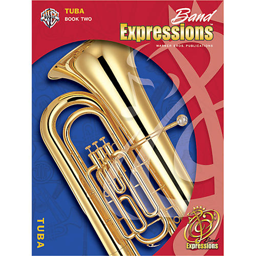 Alfred Band Expressions Book Two Student Edition Tuba Book & CD