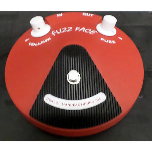Dunlop Band Of Gypsys Fuzz Face Effect Pedal