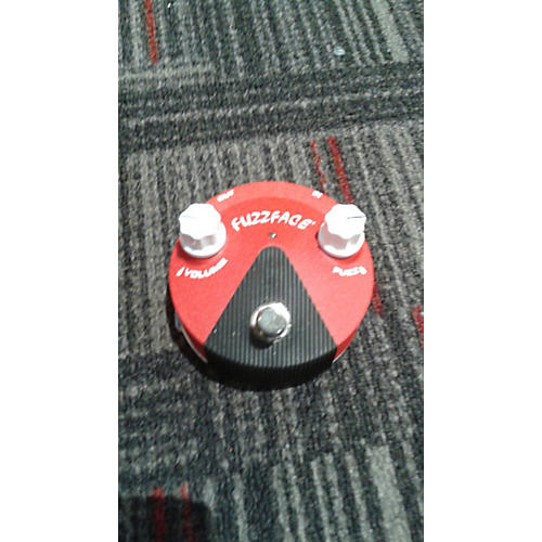 Dunlop Band Of Gypsys Fuzz Face Mini Effect Pedal-thumbnail