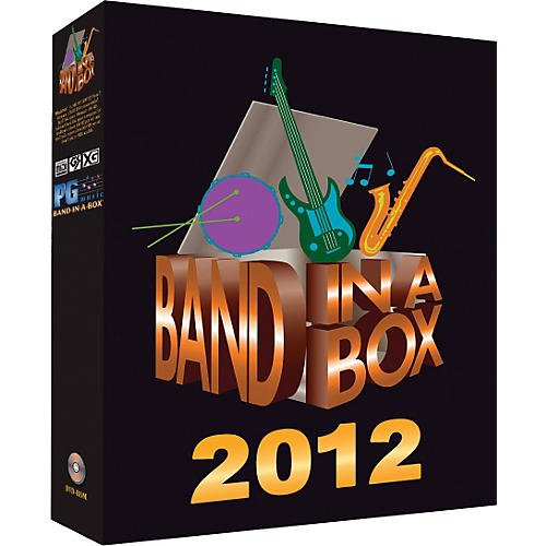 PG Music Band-in-a-Box 2012 Audiophile Edition (Win-Portable Hard Drive)