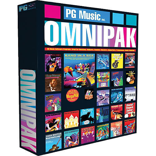 PG Music Band-in-a-Box 2012 OMNIPAK (Win-Portable Hard Drive)