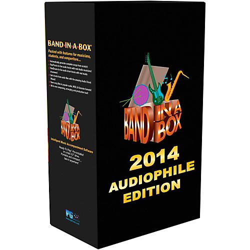 PG Music Band-in-a-Box 2014 Audiophile Edition (Win-Portable Hard Drive)-thumbnail
